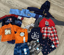 Lot of Baby Boys Clothing  Fleece Pajamas Athletic Wear Elmo Hoodie & Outfit