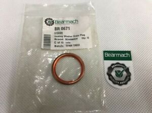 Bearmach Land Rover Series Drain Plug Washer for Axle,Gearbox,Transfer Box BR671