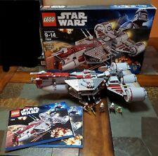 LEGO 7964 STAR WARS REPUBLIC FRIGATE COMPLETE W BOX BOOKS MINIFIGS RETIRED HOT**