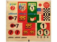 LEGO 8679 - Cars - Tokyo International Circuit - STICKER SHEET