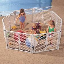 Super Yard Xt Extension Kit Baby Play Gate Wide Walk Door Set Separately Durable