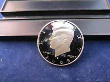 2005-S Kennedy Half Dollars Silver Proof Ultra Deep Cameo Upper grading range