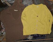 Gap & J. Jill LOT of 2 Women Small Cotton Sweaters (LOT LCM 20)