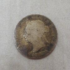 25 Cents 1887 Canada Silver Coin Queen Victoria 25c