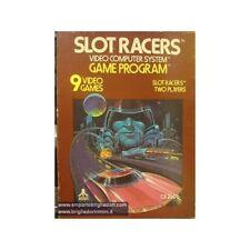 ATARI 2600 - VCS - SLOT RACERS - CX 2606P - 1978 VIDEOGAME vintage