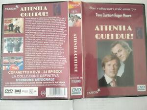 """DVD SET-BOX SERIE TV FUORI CATALOGO """"ATTENTI A QUEI DUE"""" 24 EPISODI IN ITALIANO"""