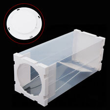White Humane Rat Trap Cage Pest Rodent Mice Mouse Catch Capture Environmental
