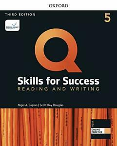 Q Skills For Success 3E: Level 5 Reading & Writing Sb With Iq Online Practice Pa