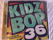 KIDZ BOP 36 TODAYS BIGGEST HITS SUNG BY KIDS FOR KIDS FAST 1ST CLASS MAIL w/trac