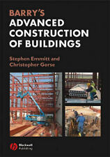 Barrys Advanced Construction of Buildings, Emmitt, Stephen, Used; Good Book