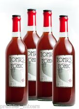 TOMR'S HANDCRAFTED TONIC SYRUP CONCENTRATE (4-PACK: 750 ML EACH) mixer gin and