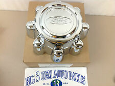 2001 2002 2003 2004 Ford F-250 F-350 Super Duty Wheel Center Hub Cap Chrome new