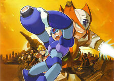 Megaman -  Huge Wall Poster - 22 in x 34 in - Fast shipping 003