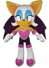 "Official  11"" Rouge the Bat Plush Toy Doll Stuffed GE-87542 Sonic The Hedgehog!"