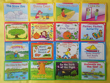 Learn to Read Childrens Book Set Preschool Kindergarten Homeschool Lot 16