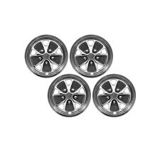 """1965-1973 Ford Mustang Drake 14"""" Styled Steel Wheel Cover Set"""