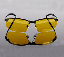 Men's Night Vision Driving Glasses HD Polarized Sunglasses Fashion Sport Eyewear