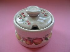 Wedgwood - Quince - Mustard Pot - Lidded - Late Mark - Oven to Table