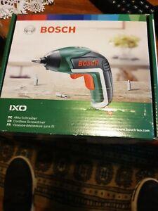 Bosch IXO V Cordless Screwdriver with 10 Bits & Case - 3.6V