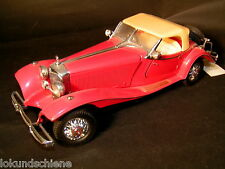 FRANKLIN Comme neuf Mercedes Benz 500 K roadster 1936 1:24. Franklin Comme neuf #275