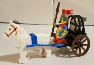 LEGO SYSTEM CASTLE MOYEN-ÂGE SET 6016 KNIGT'S ARSENAL DE 1987 VINTAGE