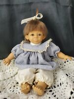 Vintage D'Anton Jos Danton Small Baby Blue Dress Spanish baby large ears vinyl