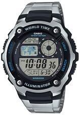 Relojes de pulsera digitales Classic de plata