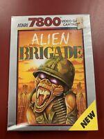 Atari 7800 ALIEN BRIGADE Video Game SUPER RARE Sealed