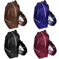 Damen Rucksack Tasche Damenrucksack Freizeitrucksack lila braun schwarz blau