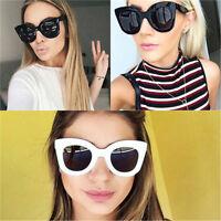 Bold Cat Eye Luxury 50's 60's Retro Vintage Designer Celebrity Women Sunglasses