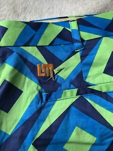 Loudmouth Mens Golf Trousers 41/33L RRP£90