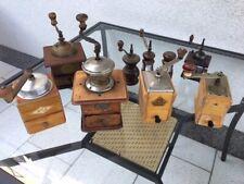 Konvolut Sammlung 6 alte Kaffeemühlen Robert Zassenhaus 2x Dienes Mokkamühle HTM