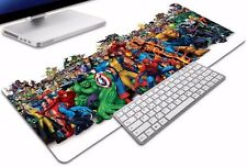 XL Super Heroes Inspired Large Gaming Mouse Pad 90 x 30cm