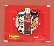 Closed Panini Zakje / Packet / Tüte - Dutch Nederlands COCA COLA Euro 2012