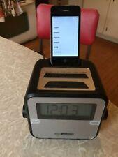 Apple iPhone 4 - Black (Verizon) with Attachable Clock Radio