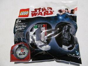 LEGO Darth Vader pod w/ red lightsaber Star Wars anniversary minifigure 5005376