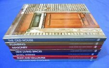 Time-Life Home Repair and Improvement Hard Cover Lot of 7 Books: Masonry, etc.