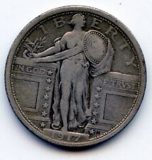 1917 (type 1) Standing liberty quarter (SEE PROMO)