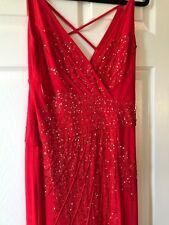 Class Roberto Cavalli Red Ball Gown Dress, Evening,  Size 42 USA size 8