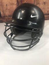 Nike Baseball Softball Batting Helmet With Face Guard Sz 6 3/8 - 7 3/8 Black