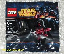 "Star Wars Lego Mini Figura Darth Revan 5002123 Nuevo Sellado Bnip ""Kotor"" Reven"