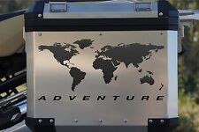 Motorcycle Reflective Decal Kit World Adventure for Touratech Panniers