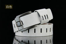 Men's  Faux Leather Waistband Waist Belt Strap Alloy Pin Buckle New