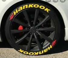"""tire lettering yellow - HANKOOK -1"""" for 14""""15""""16""""17""""18""""19""""20"""" tire. permanent"""