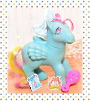 ❤️My Little Pony MLP G1 VTG Sweet Pop Twinkle Gem Eye Blue Pegasus Popsicles❤️