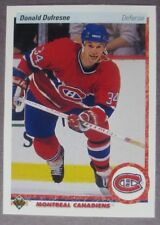 1990-91 Upper Deck #332 Donald Dufresne Montreal Canadiens RC