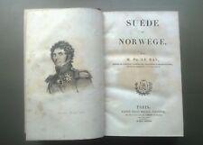 L'Univers, Suède et Norvège , Ph Le Bas, 1838