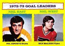 1973-74 Topps #1 Phil Esposito, Rick MacLeish