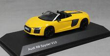 Herpa Audi R8 Spyder V10 in Vegas Yellow 5011707031 1/43 NEW
