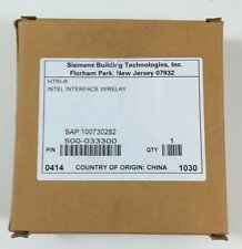 Siemens Htri-r Intel Interface Relay Module Fire Alarm 500-033300